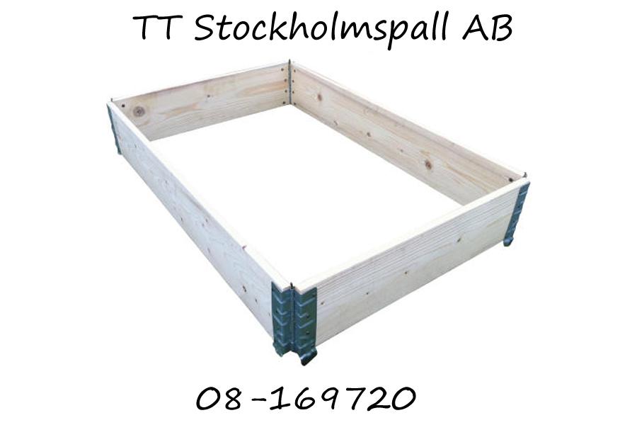 Pallkragar Köpes Stockholm