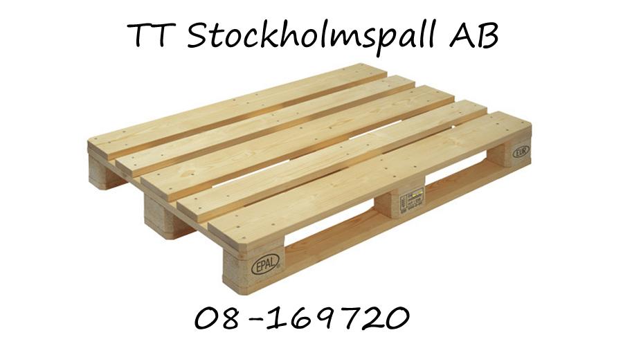 lastpall köpes Stockholm